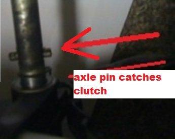 axle Drive pin