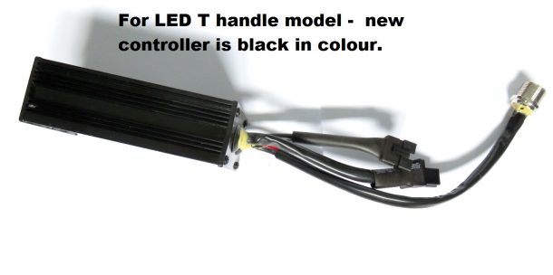 LED controller1 610x304 electric golf trolley spares explained battery lead speed hillman golf buggy wiring diagram at fashall.co