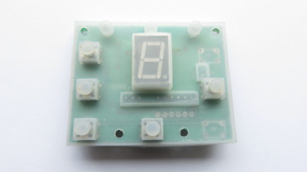 T Handle circuit board cover