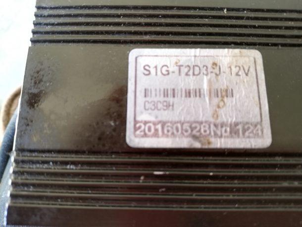 Golf trolley Controller S1G-T2D3-J-12V