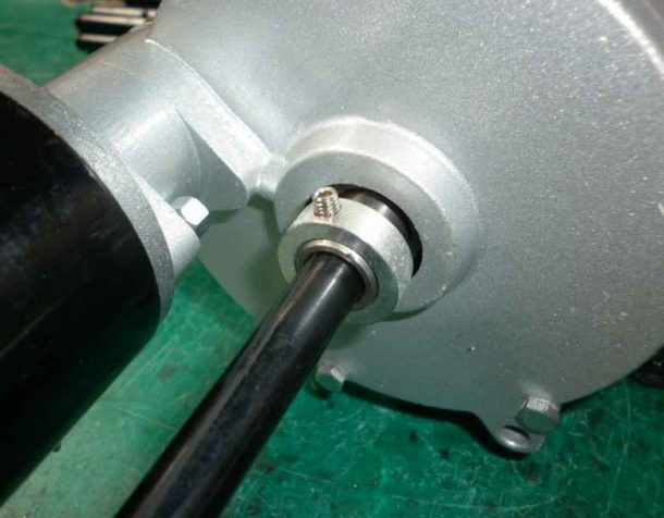 fit grub screw into ring