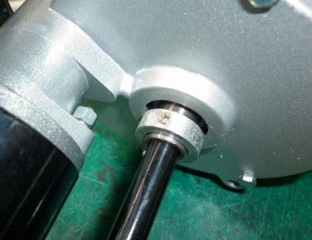 Tighten the grub screw holds the ball-bearing