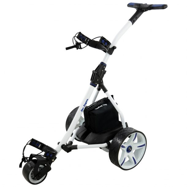 Ben Sayers golf trolley white